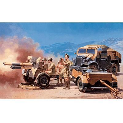 Maquette Morris Quad et canon 25pdr  - Italeri-7027