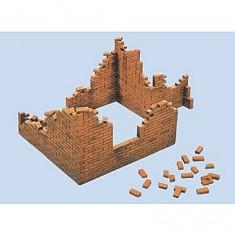 Maquette murs en brique
