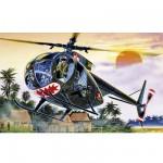 Maquette hélicoptère: OH-6 A Cayuse