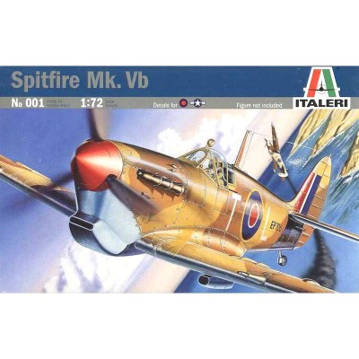 Maquette avion: P-51 Mustang I Razorback - Italeri-090