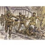 Figurines 2ème Guerre Mondiale : Parachutistes Anglais