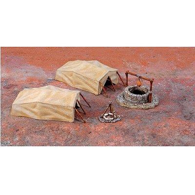 Accessoires militaires: Point d'eau désertique - Italeri-6148
