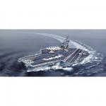 Maquette bateau: Porte-avions USS Kitty Hawk CV-63