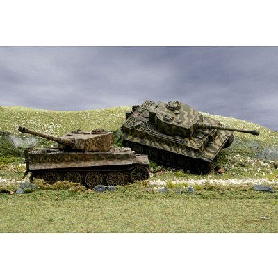 Maquette Char: Pz. Kpfw. VI Tiger Ausf. E - Italeri-7505