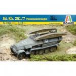 Maquette Half-track Sd. Kfz. 251/7 Pionerpanzerwagen