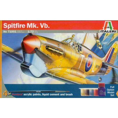 Maquette avion : Model Set : Spitfire MK Vb - Italeri-71001