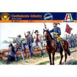 Figurines Guerre de Sécession: Troupes confédérées