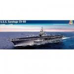 Maquette bateau: Porte-avions USS Saratoga CV-60