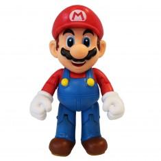 Figurine Nintendo Super Mario Bros 10 cm avec accessoire mystère : Mario