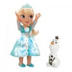 Poupée chantante Frozen La reine des neiges : Elsa avec Olaf