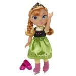 Poupée La Reine des Neiges (Frozen) : Anna patineuse 35 cm