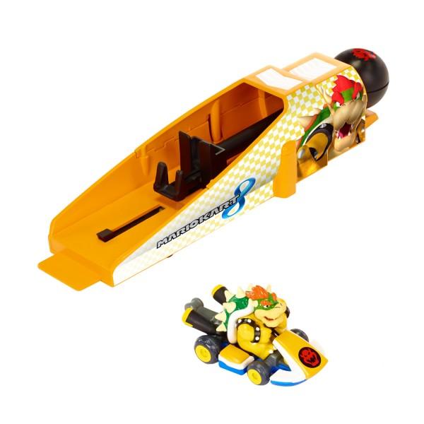 voiture lanceur nintendo mario kart 8 bowser jeux et jouets jakks pacific avenue des jeux. Black Bedroom Furniture Sets. Home Design Ideas