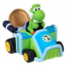 Voiture Nintendo spéciale pièce friction : Mario Kart 7 : Yoshi
