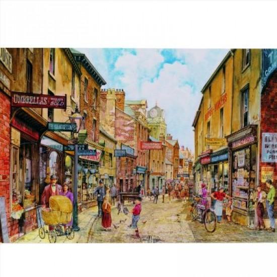 Puzzle 1000 pièces - Classic deluxe : Rue principale du village - Hamilton-3002