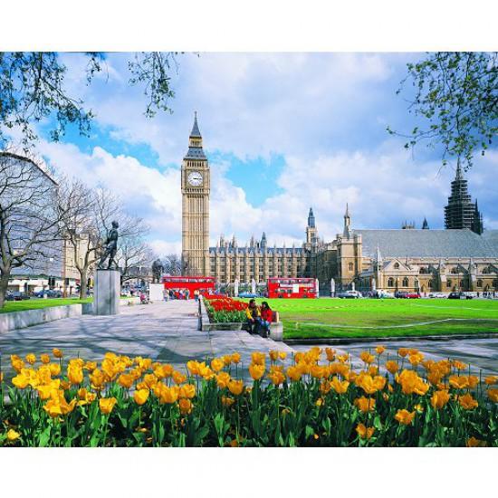 Puzzle 1000 pièces - Classic Deluxe : Big Ben, Londres - Hamilton-3005