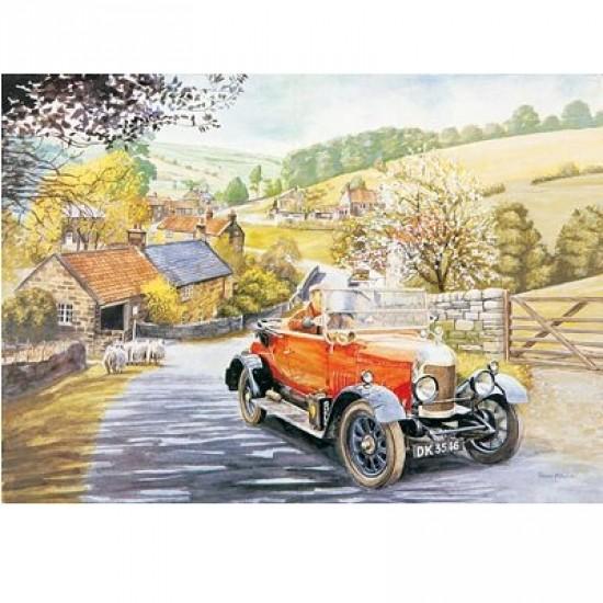 Puzzle 1000 pièces - Classic deluxe : Bull Nose Morris - Hamilton-3016