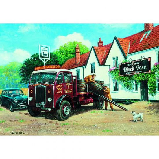Puzzle 1000 pièces - Classic Deluxe : Livraison - Hamilton-3027