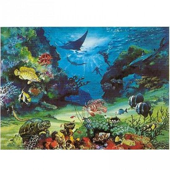 Puzzle 1000 pièces - Grande barrière de corail - Hamilton-BR1/1053