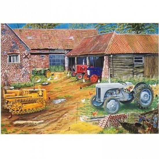 Puzzle 1000 pièces - Collection de tracteurs anciens - Hamilton-CC1/7003