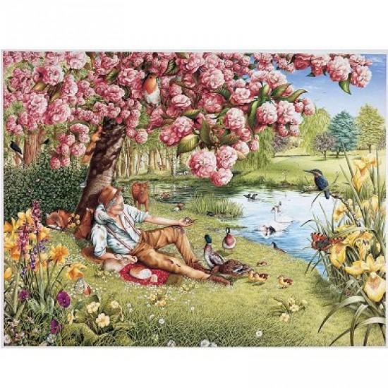 Puzzle 1000 pièces - Un repas enchanteur - Hamilton-WK1/1029