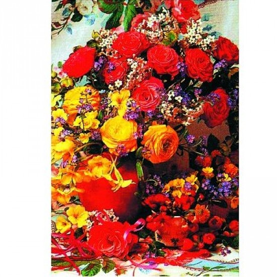 Puzzle 1500 pièces - Collection : Bouquet du soleil - Hamilton-604-4