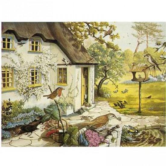 Puzzle 1500 pièces - Le jardin d'oiseaux - Hamilton-GB1/1506