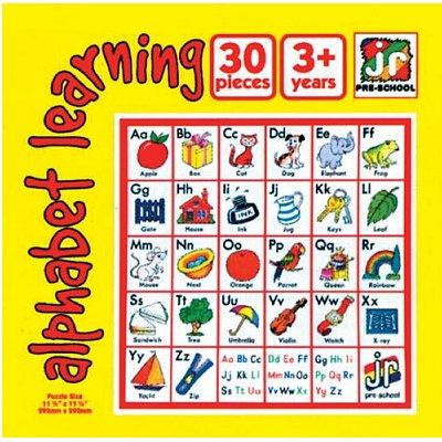 Puzzle 20 pièces - Apprendre l'alphabet en anglais - Hamilton-706