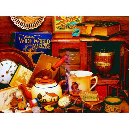 Puzzle 500 pièces - Classic Deluxe : Mémorable - Hamilton-4009