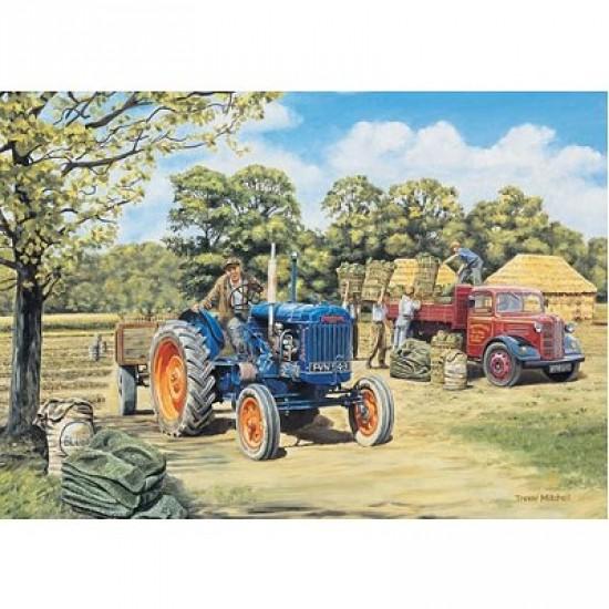 Puzzle 500 pièces - Les héros méconnus : Le travail à la ferme - Hamilton-408-3