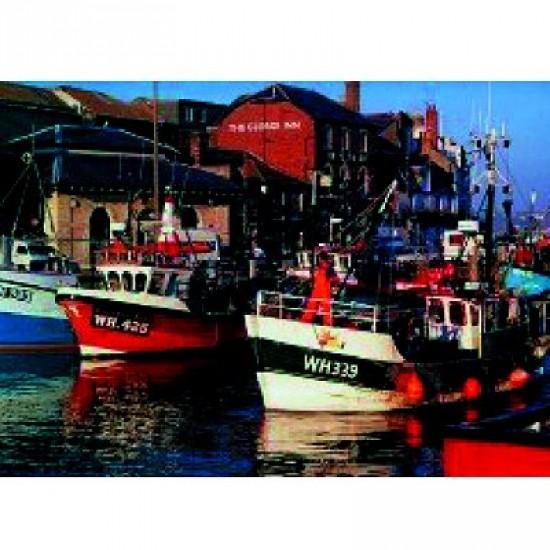 Puzzle 500 pièces - Petit port de pêche - Hamilton-164-7