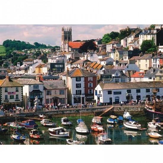 Puzzle 500 pièces - Port de Brixham, Angleterre - Hamilton-164-12