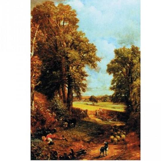 Puzzle 750 pièces - John Constable : Le champs de maïs - Hamilton-606-2