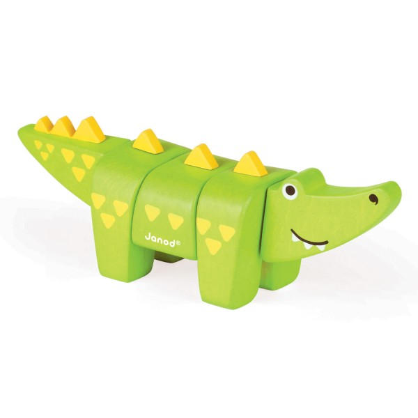 Animal kit à assembler : Crocodile - Janod-J08218