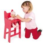 Chaise haute pour poupée 36 cm Babycat