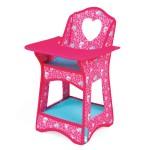 Chaise haute pour poupées Birdy Paradise