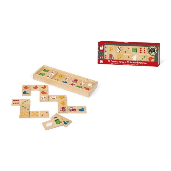Dominos ferme - Janod-J08167