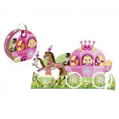 Floor Puzzle - 39 pièces : Le carosse de la Princesse