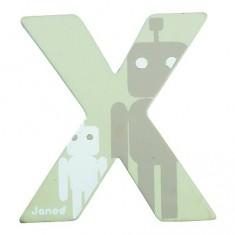 Lettre décorative en bois : X