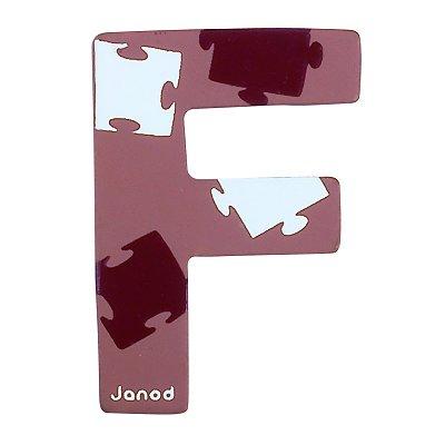 Lettre d corative en bois f janod le lutin rouge - Lettre decorative en bois ...