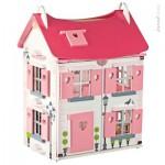 Maison de poupée Mademoiselle : 2 niveaux