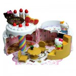 Maison gâteau d'anniversaire Hello Kitty