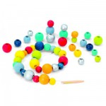 Perles rondes 48 pièces