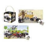 Puzzle 24 et 36 pièces : Lovely puzzle La voiture de police de Brice