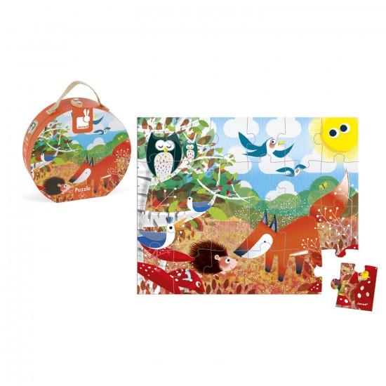 Puzzle 24 pièces : Forêt - Janod-J02857