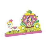 Puzzle 9 pièces vertical magnétique : Princesse