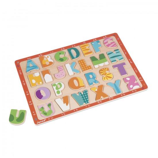 Puzzle Alphabet Chatons - Janod-J07086