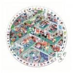 Puzzle d'observation rond 208 pièces : Aux urgences