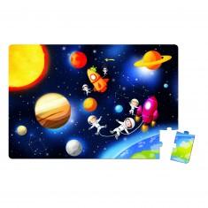 Puzzle géant 36 pièces : Galaktic