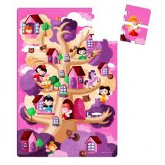 Puzzle géant 36 pièces : Féérik