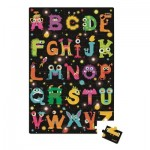Puzzle géant 50 pièces : Floor ABC Monsters